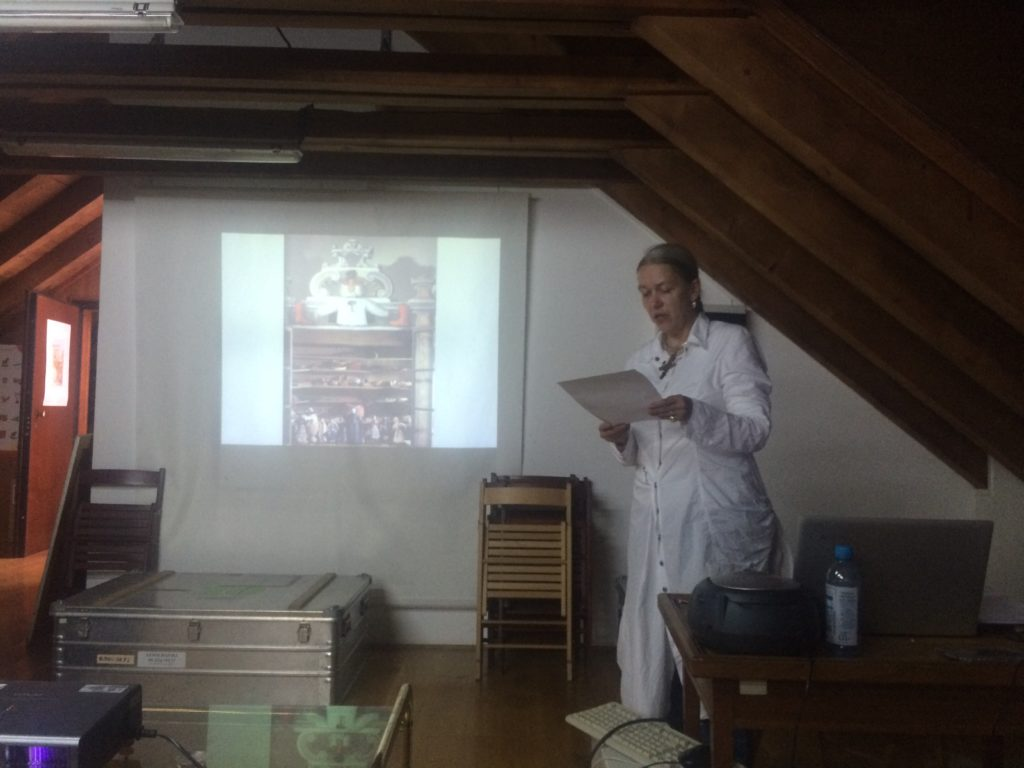 Elke Katharina Wittich discussed late 17th- and early 18th-century historiographic reports and travelogues on Dalmatia, which, published and translated, circulated across Europe